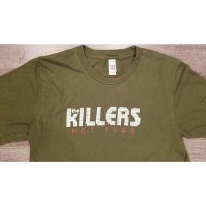 Vintage The Killers Hot Fuss Concert Tee